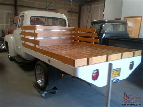 Custom Trucker Flat By Devapishop 1956 ford f 100 quot custom quot flatbed truck