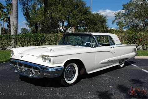 1960 Ford Thunderbird by 1960 Ford Thunderbird W Factory Sun Roof And 390 V8
