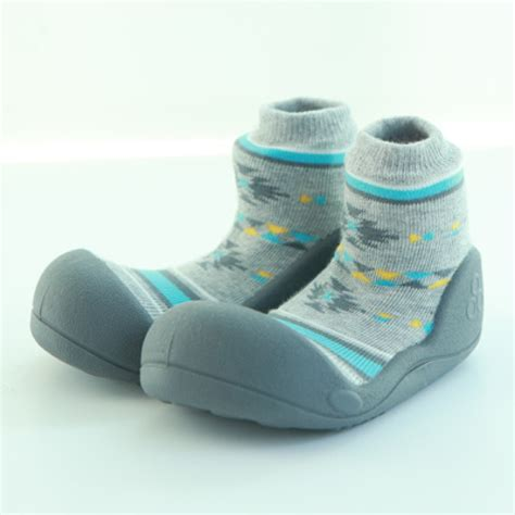 Attipas Nordic attipas baby toddler shoes socks nordic gray