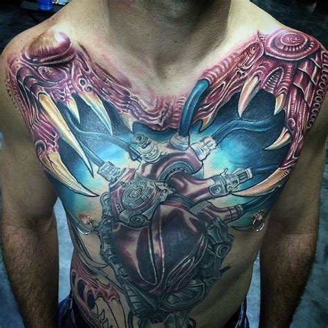 heart chest piece tattoo designs 90 anatomical designs for blood pumping ink