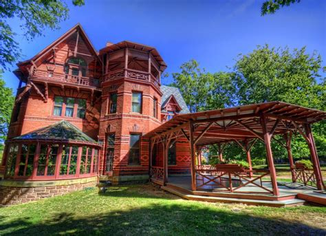 mark twain house mark twain house famous houses the 19 most photographed homes in america bob vila