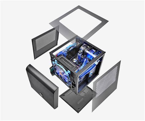 Segotep Mini Tt Cube Black White Side Window Usb 3 0 thermaltake australia v1 window side panel ac
