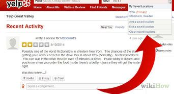 How To Search On Yelp How To Manage Saved Search Locations From The Yelp Search Bar