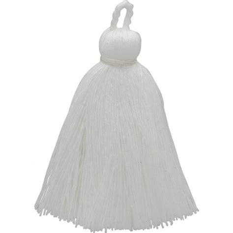 Tassel White cotton tassel white jewelry tassel designs