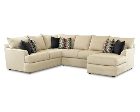 klaussner sectional sofa klaussner findley sectional sofa with right arm chaise