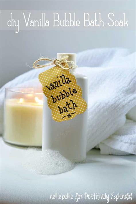 diy bath bubbles diy vanilla bath soak recipe