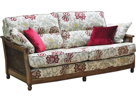 Ercol Bergere 3 Seater Sofa Cane Sides Lee Longlands