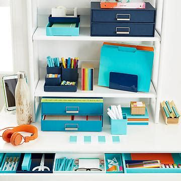 Desk Organization Supplies Office Supplies Desk Office Organization Home Office Storage The Container Store