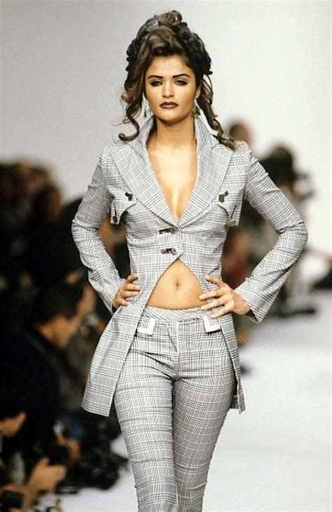 Helena Christensens Fashion Line Coming Soon To Net A Porter by Helena Christensen For Galliano Summer 1992