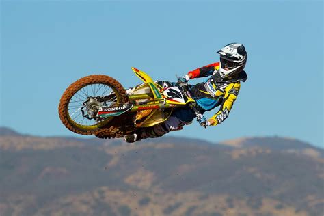 Suzuki Motocross Riders Meet Team Suzuki Mx Rider Baggett Motorcycle News