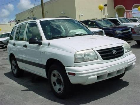 2002 Suzuki Vitara Specs 2002 Suzuki Vitara Jls 4 Door Top Data Info And