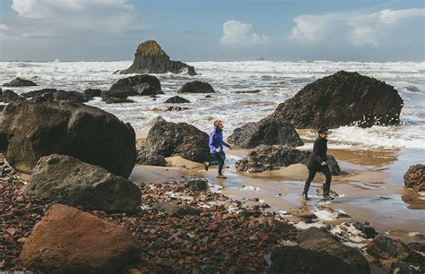 wind and sand storm on the oregon coast photos