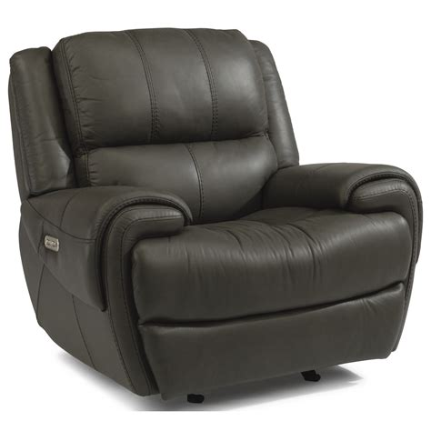 Recliner With Usb Port by Flexsteel Latitudes Nance Casual Power Gliding Recliner