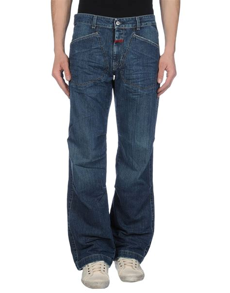 francois girbaud mens jeans marith 233 et fran 231 ois girbaud denim trousers in blue for men