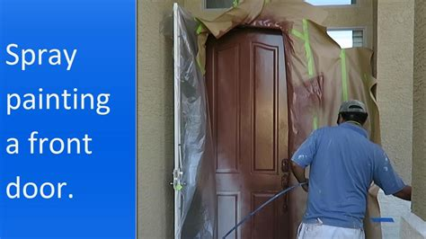 learn how to paint your front door how tos diy how to spray paint the exterior of a front door youtube