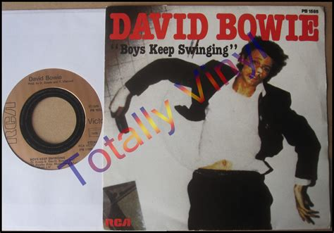 boys keep swinging totally vinyl records bowie david boys keep swinging