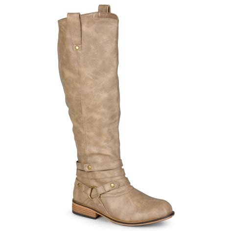 womens wide width boots journee collection womens wide calf boots ebay