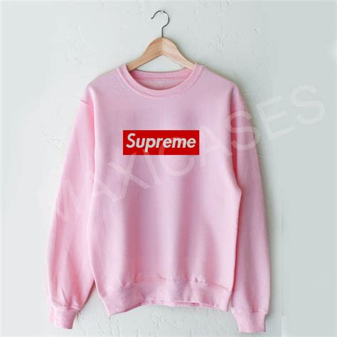 Jaket Sweater Supreme Logo Jumper supreme logo sweatshirt sweater unisex adults size s to 2xl