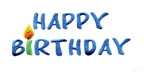 design happy birthday photo happy birthday embroidery design