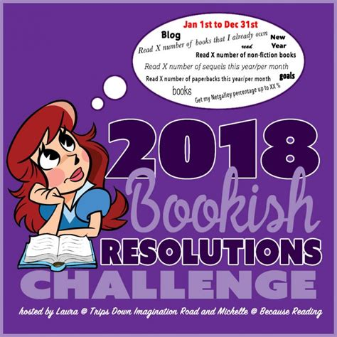 bookishresolutions time to make 2018 goals sign up now
