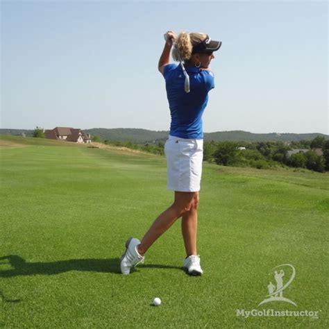 golf swing finish master the finish my golf instructor