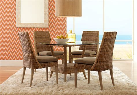 cindy crawford dining room furniture cindy crawford home key largo 5 pc dining set dining