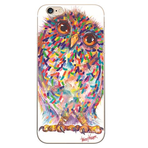 Owl Iphone 6plus owl iphone by tracey keller textured iphone