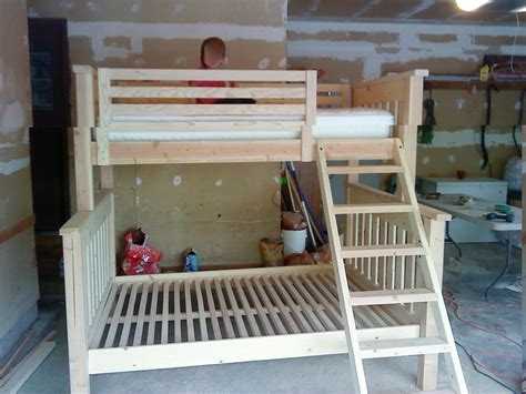 how to build a bunk bed bunk beds for kids plans 3142
