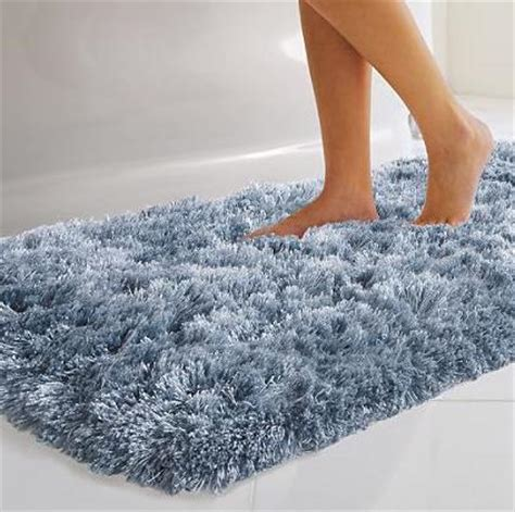 White Modern Bedroom monaco ultra plush bath rugs