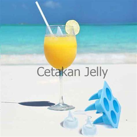 Cetakan Es Puding Coklat cetakan es coklat puding shark fin cetakan jelly
