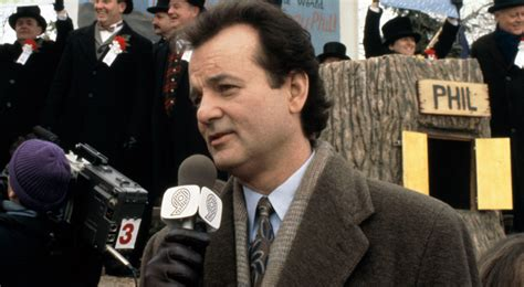 groundhog day ending bill murray quotes quotesgram
