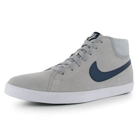 Nike Casual Eastham nike eastham mid top casual trainers mens grey navy sneakers shoes ebay