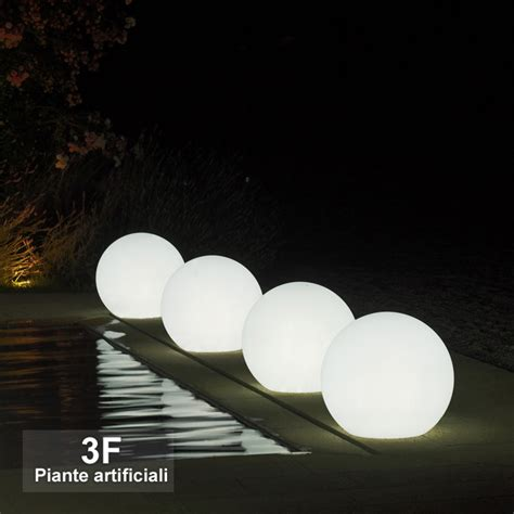 vasi luminosi economici sfera luminosa 216 cm 45 3f piante artificiali