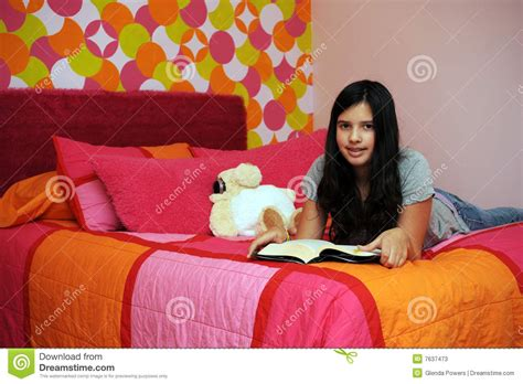 reading before bed reading before bed stock photos image 7637473