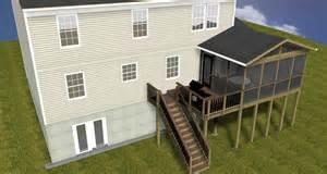 Sunroom Design Software Screened Porches Maryland Custom Outdoor Builder Decks