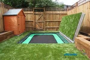 the big backyard 25 best ideas about sunken troline on