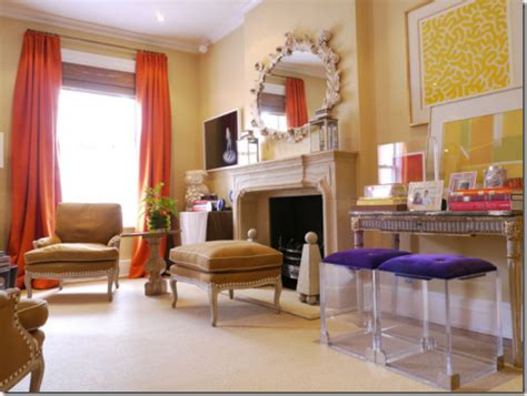 Tangerine Living Room by 20 Tangerine Living Rooms Color Of The Year Decoholic