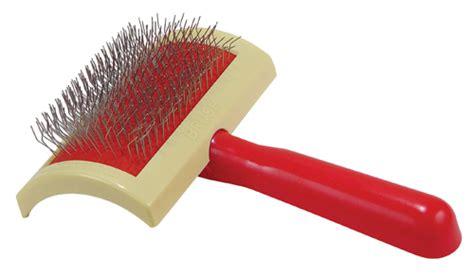 slicker brush for dogs brushing tips doggie den
