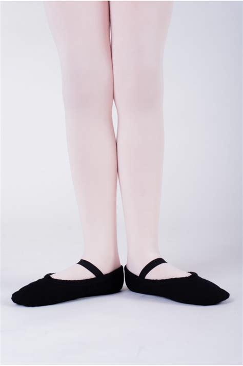 sansha black canvas soft ballet shoes tutu split