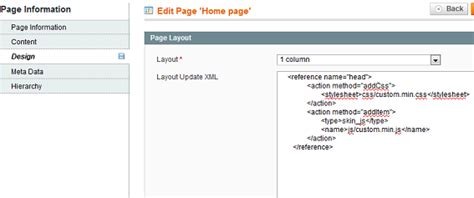 layout xml file magento how to add a js or css file only on home page in magento