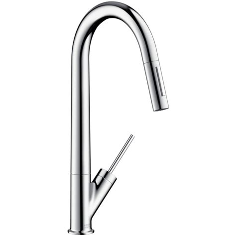 Hansgrohe Axor Starck Kitchen Faucet Hansgrohe 10821 Axor Starck Higharc Kitchen Faucet W Pull Out Spray 10821001 10821801 10821 001