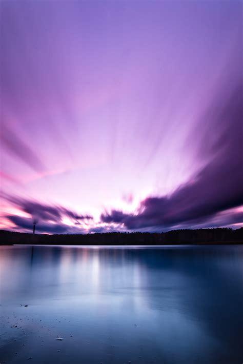 purple sky explored oct     mikko palosaari flickr