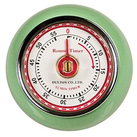 Vintage Kitchen Timer by Fox Run Retro Kitchen Timer With Magnet Mint Green New