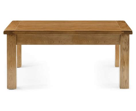 normandy rustic oak small coffee table oak