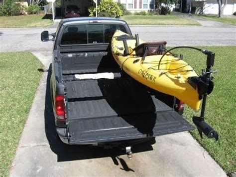 truck bed kayak rack best 25 kayak truck rack ideas on pinterest