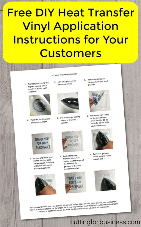 cricut printable vinyl instructions 17 best images about craft ideas on pinterest heat press