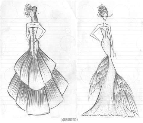 Sketches Clothes by Fashion Sketches Bocetos E Ilustraciones Fashion