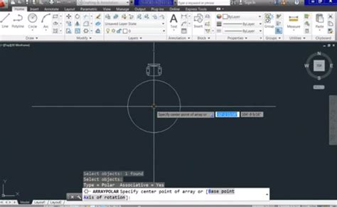 layout autocad rotate taught how to use the array rotate stretch software