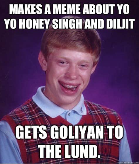 Honey Meme - makes a meme about yo yo honey singh and diljit gets
