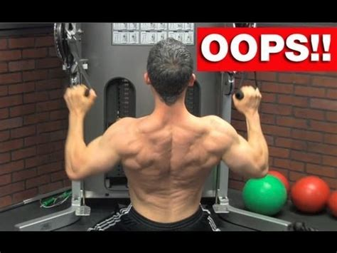back workout blunders 5 back workout mistakes to avoid